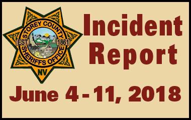 SCSO Incident Report June 4 - 11