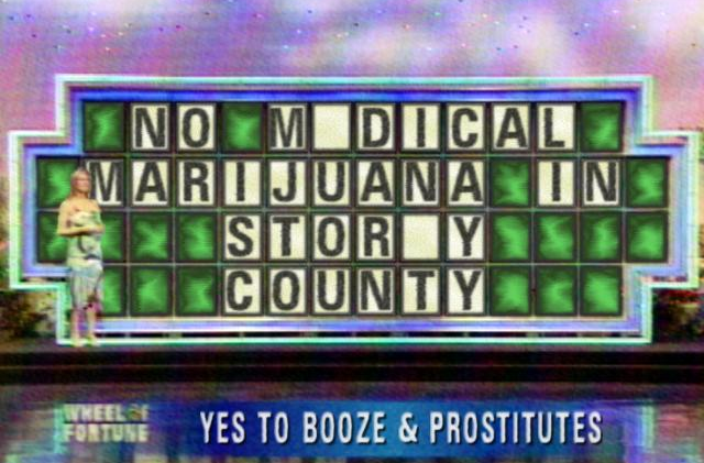 No Medical Weed In Storey County