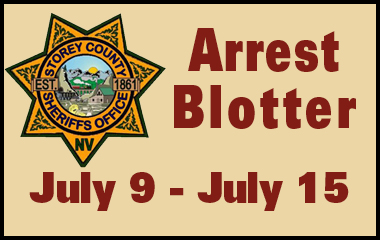 SCSO Arrest Report July 9 - 15